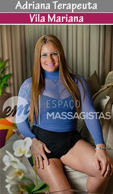 Formada em massoterapia, atende com massagem relaxante e massagem tântrica, entre outras.